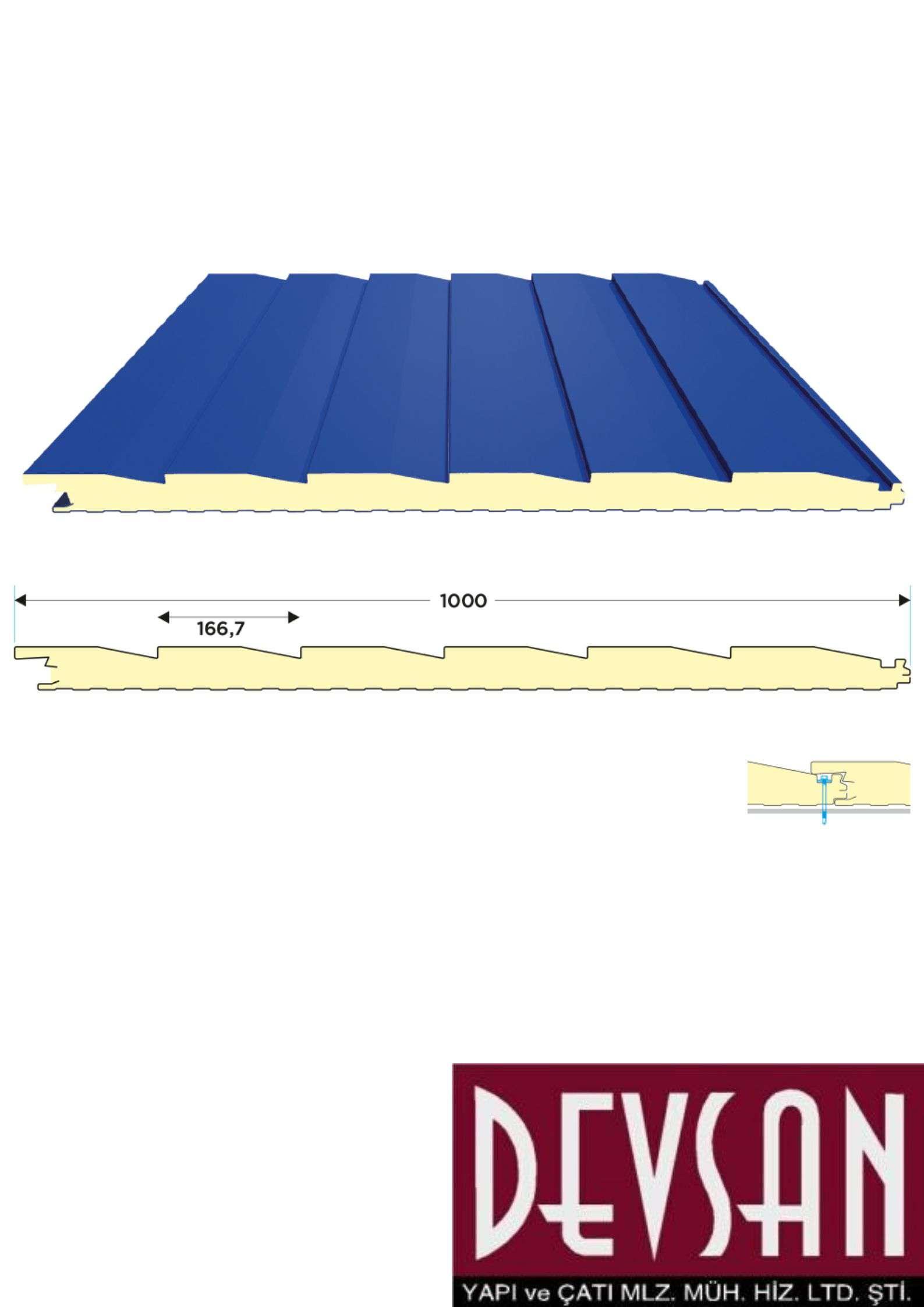 Siding Cephe Paneli 50 mm.