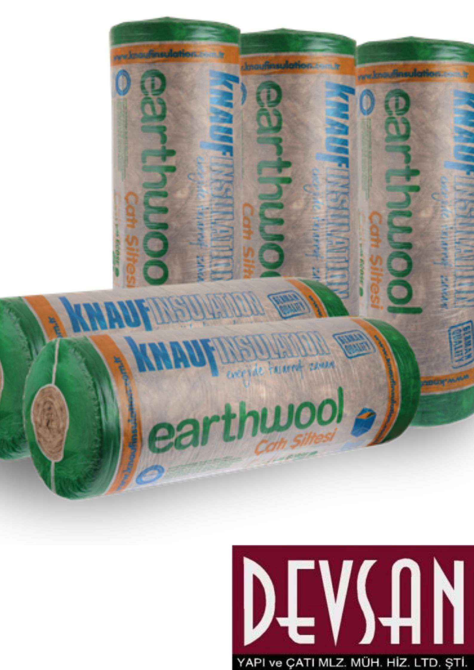 Knauf Earthwool Çatı Şiltesi 8cm
