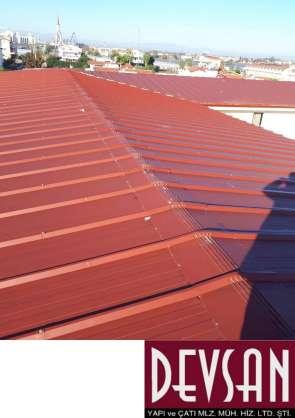 Mekpan Çatı Paneli Kiremit Kırmızısı