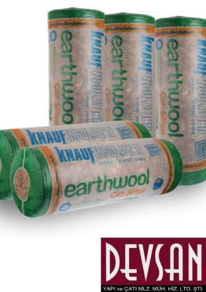 Knauf Earthwool Çatı Şiltesi 10cm