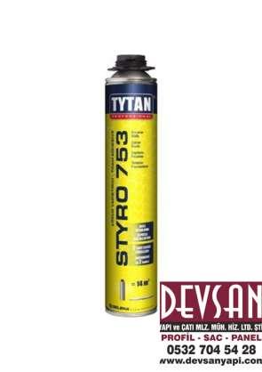 Tabancalı Mantolama Köpük Tytan Styro 750 ML.